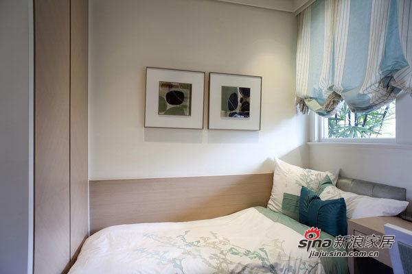 简约 三居 卧室图片来自用户2738813661在女上司10万打造119平怡然悠哉居所63的分享