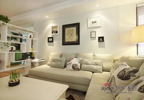 美式 三居 客厅图片来自用户1907685403在140平美式风格三居室39的分享