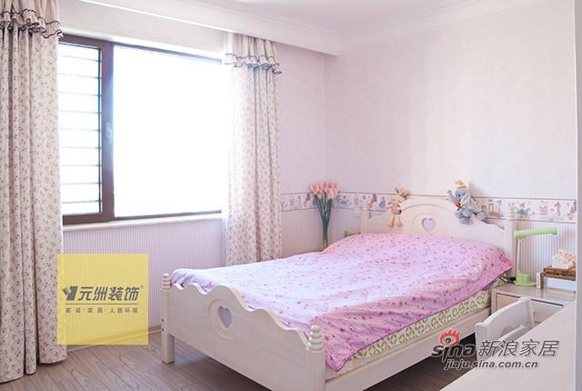 欧式 三居 卧室图片来自用户2746953981在【多图】160平米简欧风格设计11的分享