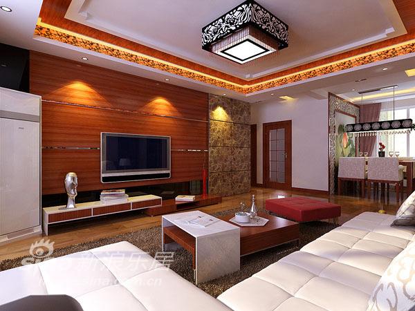 中式 三居 客厅图片来自用户2757926655在金隅万科 新中式风格96的分享