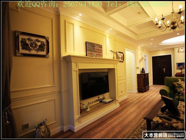 美式 三居 玄关图片来自用户1907685403在【多图】日月光90平米现代美式风格39的分享
