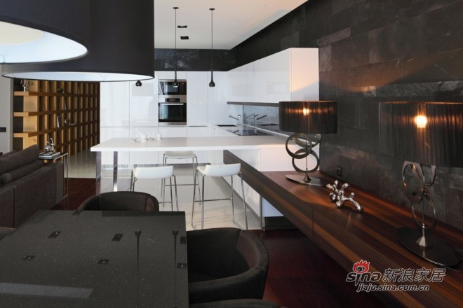 简约 二居 餐厅图片来自城市人家犀犀在87平米现代低奢21的分享