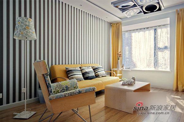简约 二居 客厅图片来自用户2739153147在简洁实用12万装130平宜家3居21的分享