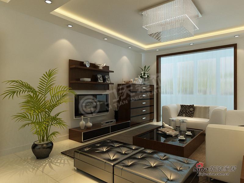 简约 三居 客厅图片来自阳光力天装饰在3室2厅现代简约风格家居91的分享