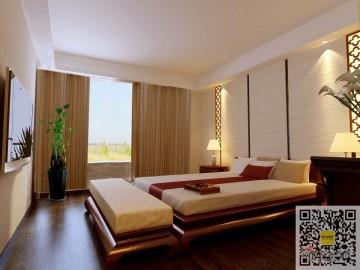 170平米四室两厅两卫中式风格57