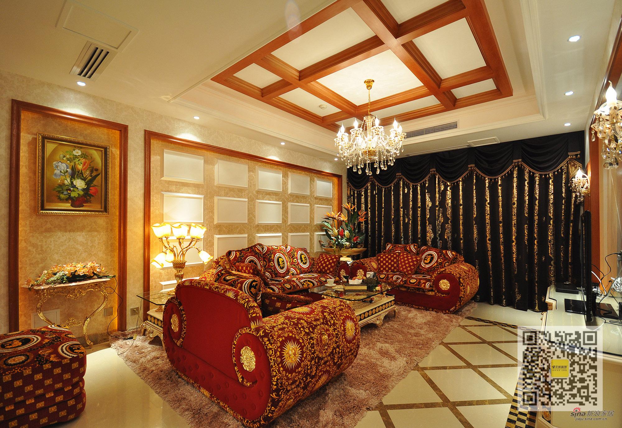 其他 别墅 客厅图片来自用户2737948467在新巴洛克风格别墅设计42的分享