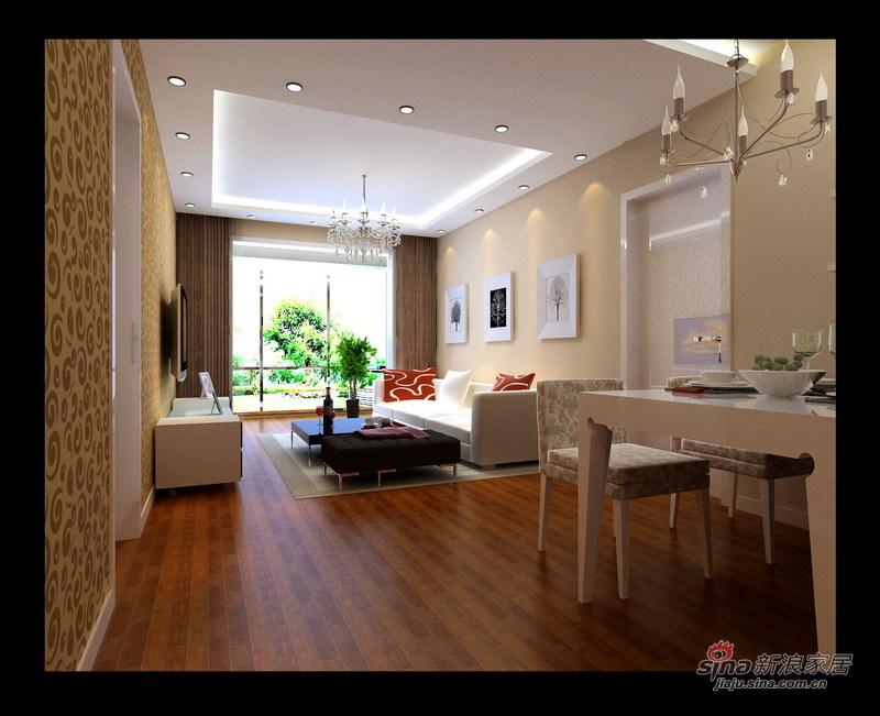 简约 一居 餐厅图片来自用户2737782783在3.5万打造60平米简约明亮大气一居室96的分享
