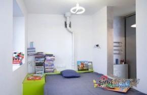 简约 一居 卧室 屌丝 实用图片来自用户2557010253在设计创意十足的绿色小户型71的分享