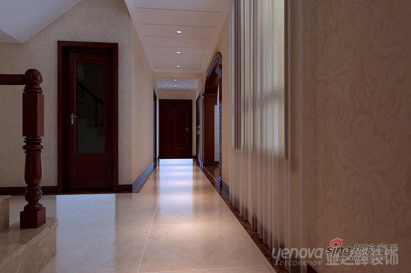 欧式 别墅 玄关图片来自用户2746889121在【多图】简欧风格别墅-梦的港湾85的分享