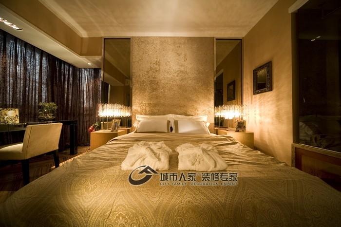 现代 三居 卧室 舒适图片来自城市人家犀犀在160平雅致主义23的分享