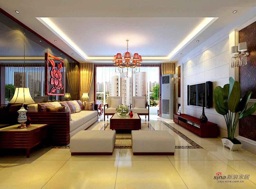 中式 三居 客厅图片来自用户1907659705在15打造咱中国人自己的风格71的分享
