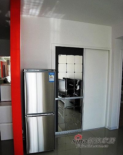 简约 二居 客厅图片来自用户2738829145在5.4万打造黑白空间时尚婚房!83的分享