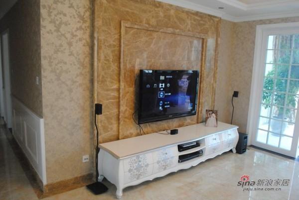 东山国际电视墙装修
