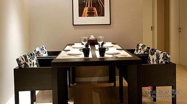 融科东南海现代中式风装修设计-餐厅效果图