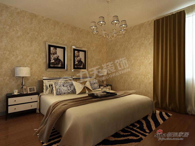 简约 二居 卧室图片来自阳光力天装饰在两室一厅现代简约美家61的分享
