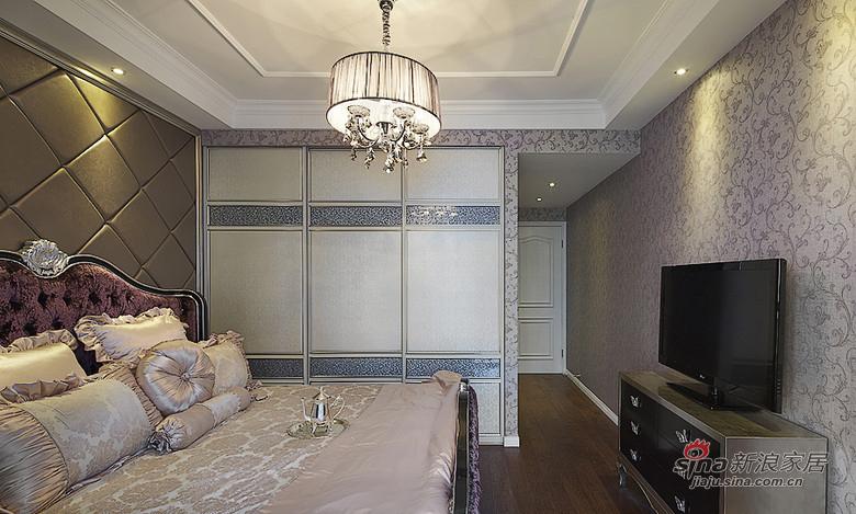 新古典 三居 卧室 舒适图片来自用户1907701233在【高清】134平新古典精致大气3居26的分享