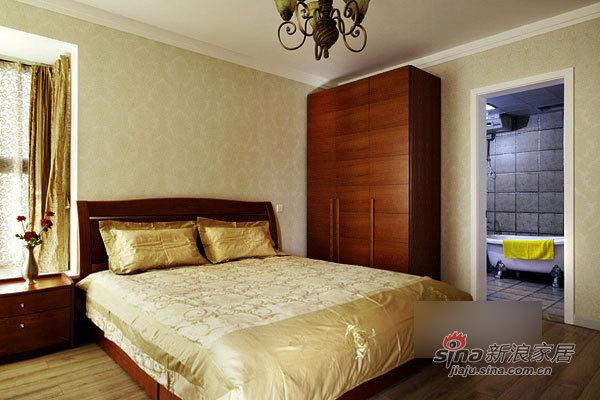 简约 二居 卧室图片来自用户2739153147在简洁实用12万装130平宜家3居21的分享