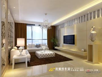 【高清】15万装都市风情西安130平米三房设计39
