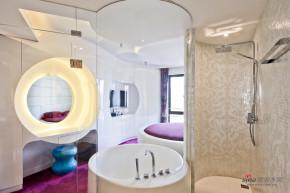 现代 二居 卧室 公主房图片来自装修微日记在【高清】70平现代时尚黑白公寓66的分享