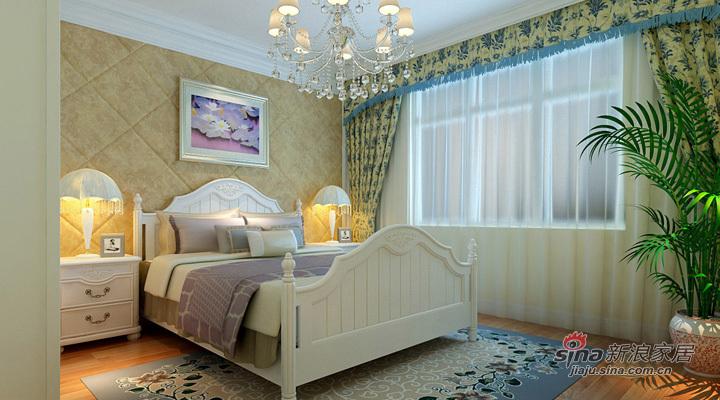 田园 二居 卧室图片来自用户2557006183在6.5万装修90平玺源台简欧田园2居案例59的分享
