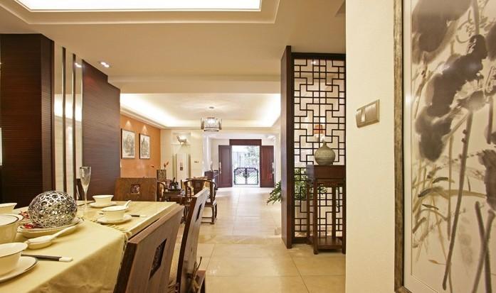 中式 别墅 餐厅图片来自用户1907658205在18万呈现208平中式的迷人风采11的分享