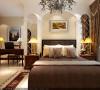 133平美式风格三居室银泰御华园装修设计41