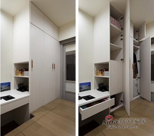 简约 二居 卧室图片来自用户2559456651在9万让92.4平方米房子亮丽变身90的分享