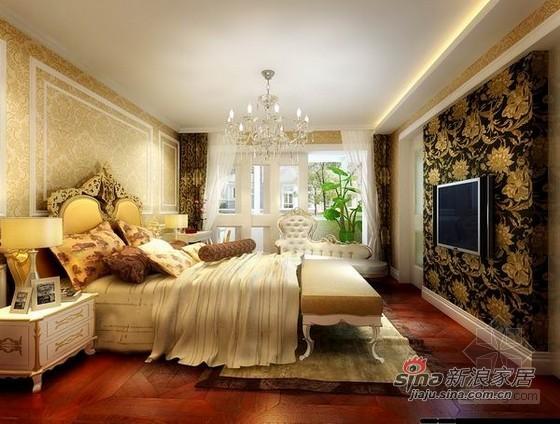 欧式 三居 卧室图片来自用户2745758987在简单的华丽前卫设计54的分享