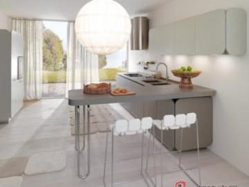 3w打造现代开放式厨房设计27