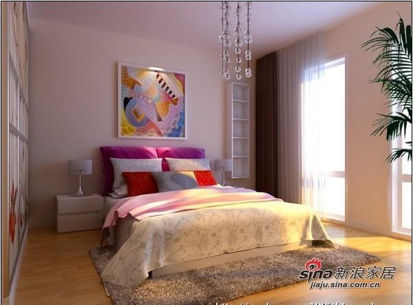 简约 三居 卧室图片来自用户2737782783在领秀新硅谷130平简约温馨爱家15的分享