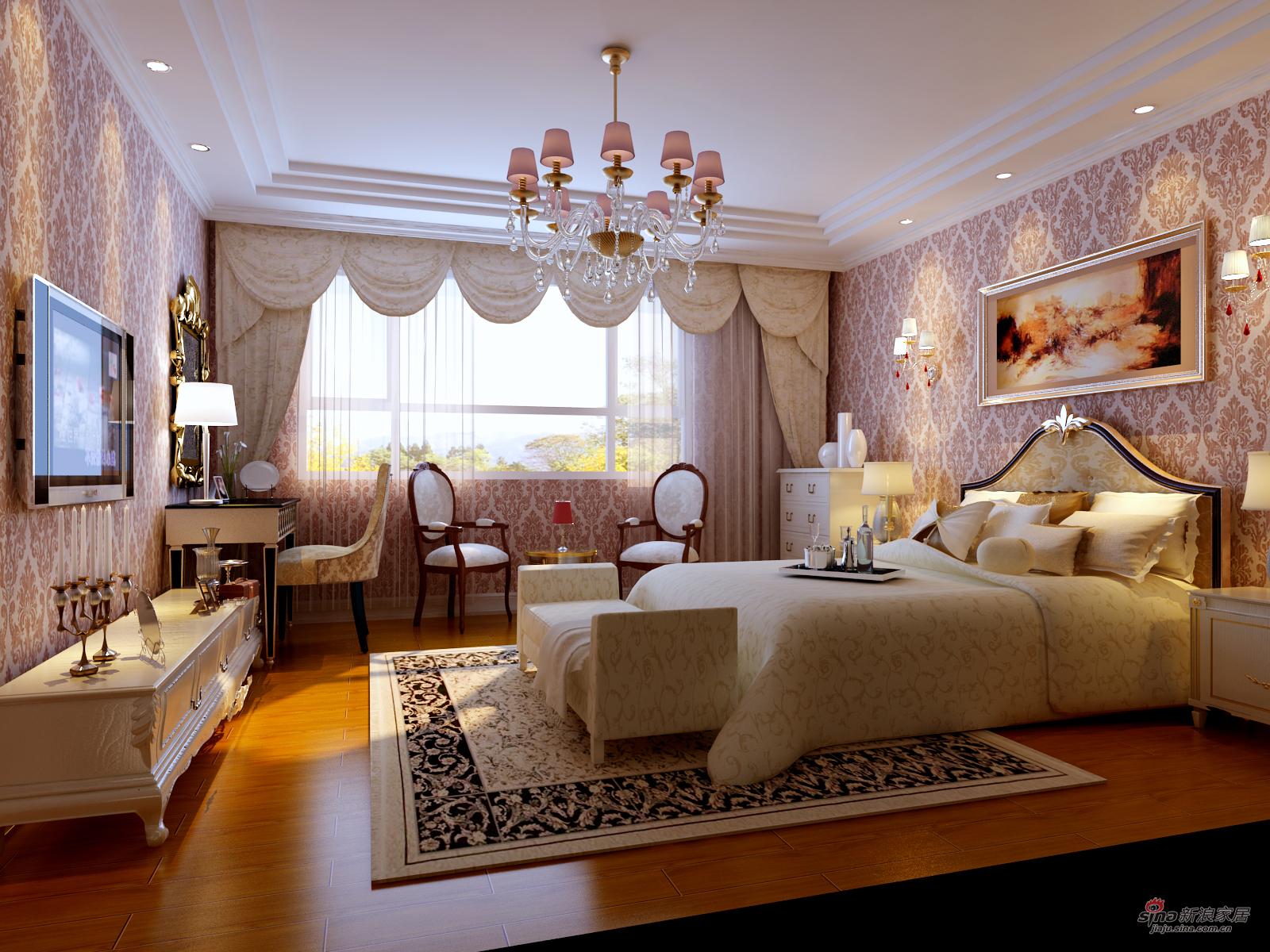 欧式 三居 客厅图片来自用户2557013183在130平米欧美风情美家 奢华三居21的分享