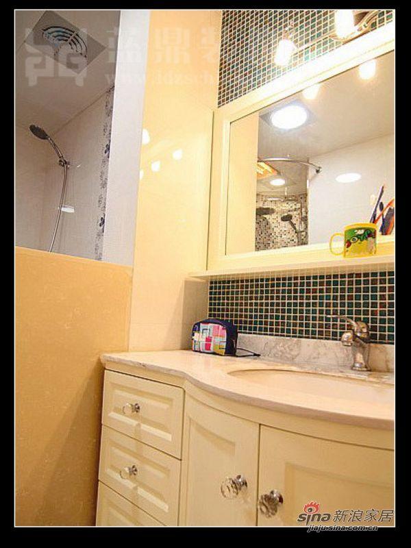 新古典 三居 卫生间图片来自用户1907701233在120平 时尚温馨居室41的分享