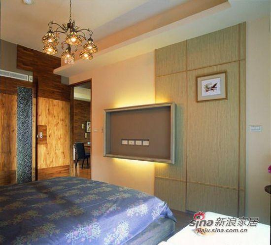 混搭 三居 卧室图片来自用户1907655435在【多图】简约田园混搭美家设计实景图40的分享