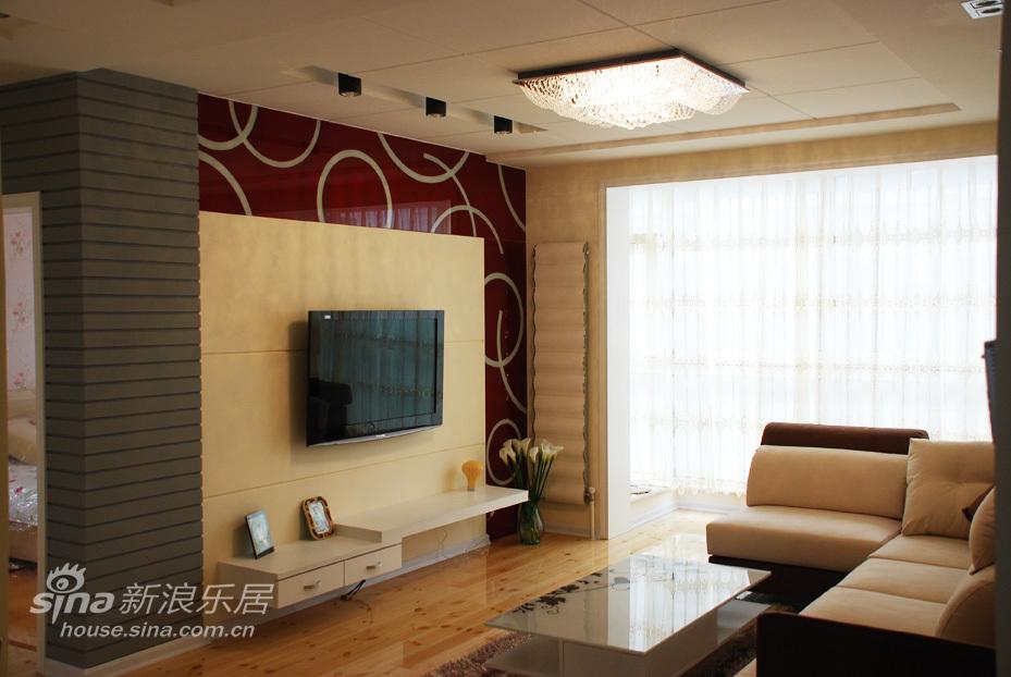简约 三居 客厅图片来自用户2737735823在哲学缔造45的分享