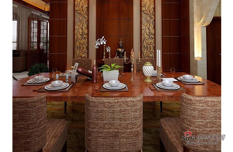 混搭 别墅 餐厅图片来自用户1907691673在凤凰墅大户型别墅设计效果图50的分享