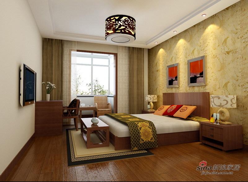 中式 二居 客厅图片来自用户2737751153在古色古香新中式71的分享