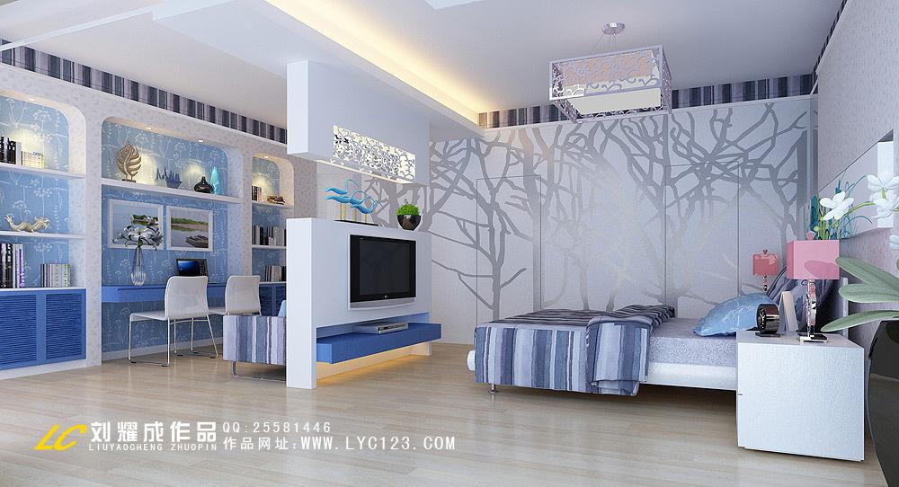 地中海 四居 客厅图片来自用户2756243717在15万巧思140平情迷地中海10的分享