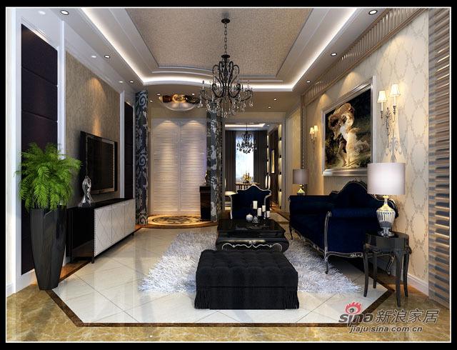 欧式 三居 客厅图片来自用户2746948411在首城国际93的分享