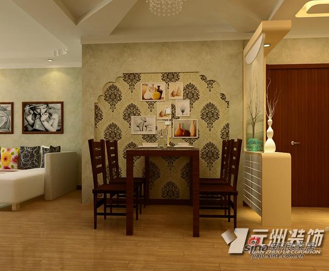 中式 三居 餐厅图片来自用户1907658205在144平米新中式风格美家 古典而别致58的分享