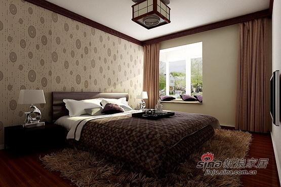 中式 三居 卧室图片来自用户1907659705在沈阳金地滨河国际--乐家装饰21的分享
