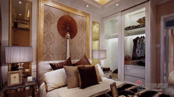 欧式 二居 卧室图片来自用户2757317061在现代华丽三居58的分享