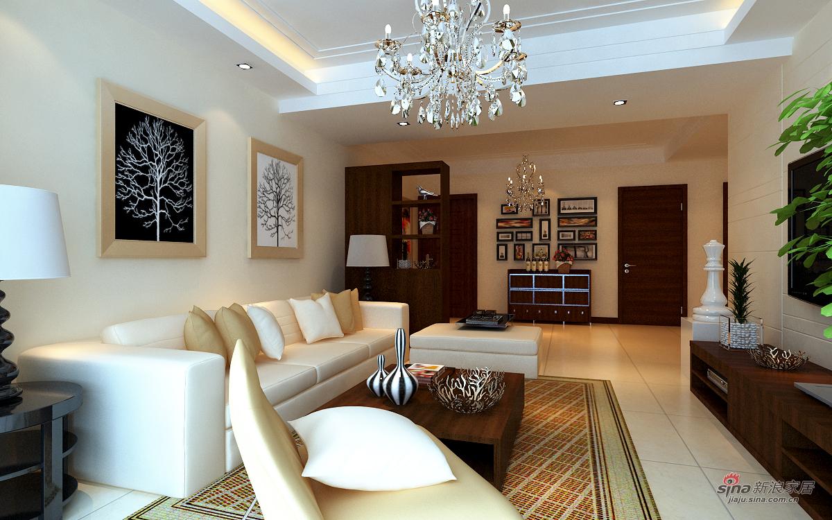 欧式 四居 客厅图片来自用户2745758987在四居室豪华欧式组图22的分享