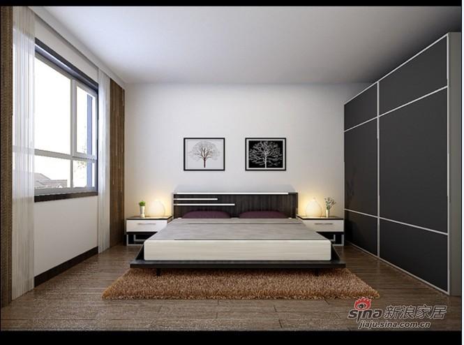 简约 一居 卧室图片来自用户2737786973在80平现代简约二居室76的分享