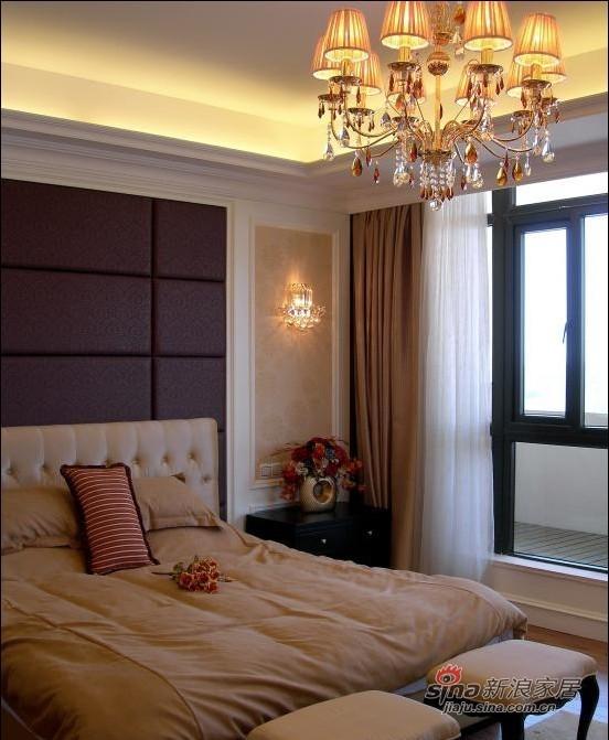 欧式 别墅 卧室图片来自用户2746869241在48万奢华欧式别墅94的分享