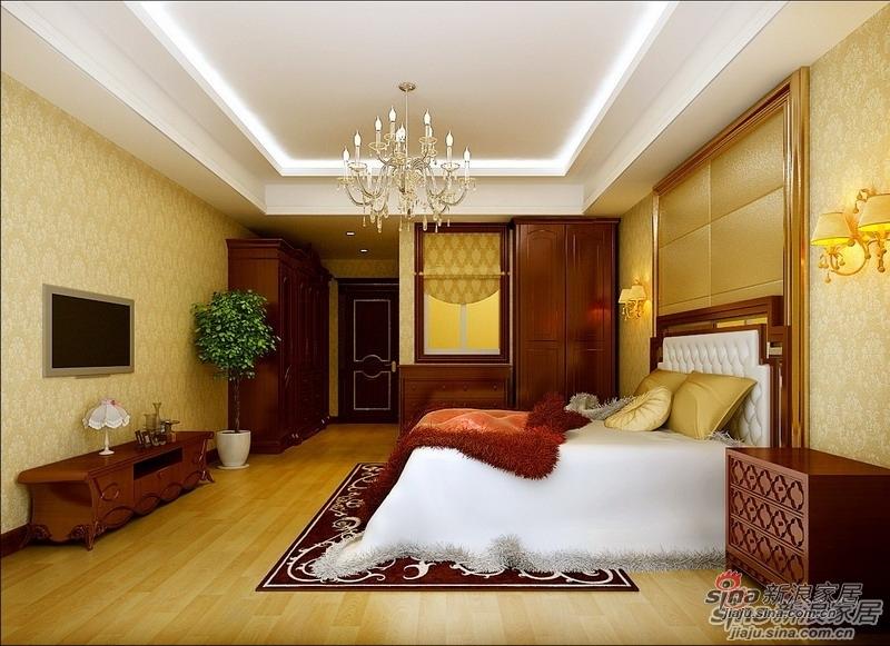 混搭 三居 卧室图片来自用户1907691673在10万打造114平简洁舒适美式混搭设计65的分享