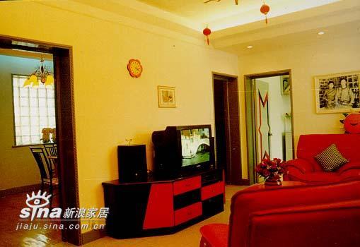 简约 二居 客厅图片来自用户2737950087在江西省九江市国家安居工程湖滨小区64的分享