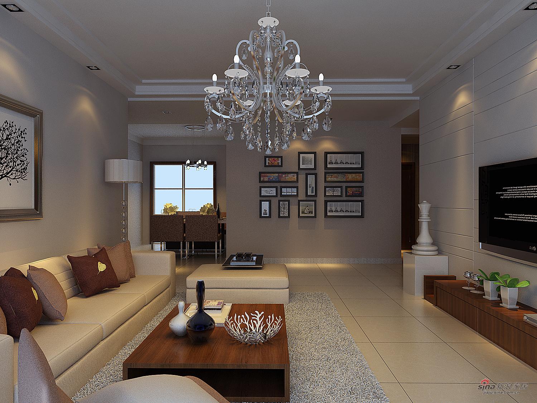 简约 三居 客厅图片来自用户2556216825在130平简约三居室91的分享