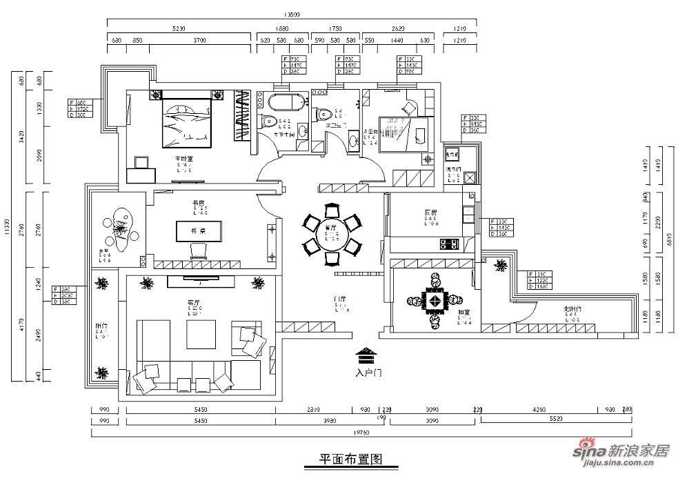 中式 三居 其他图片来自用户1907696363在合理利用三居室空间53的分享