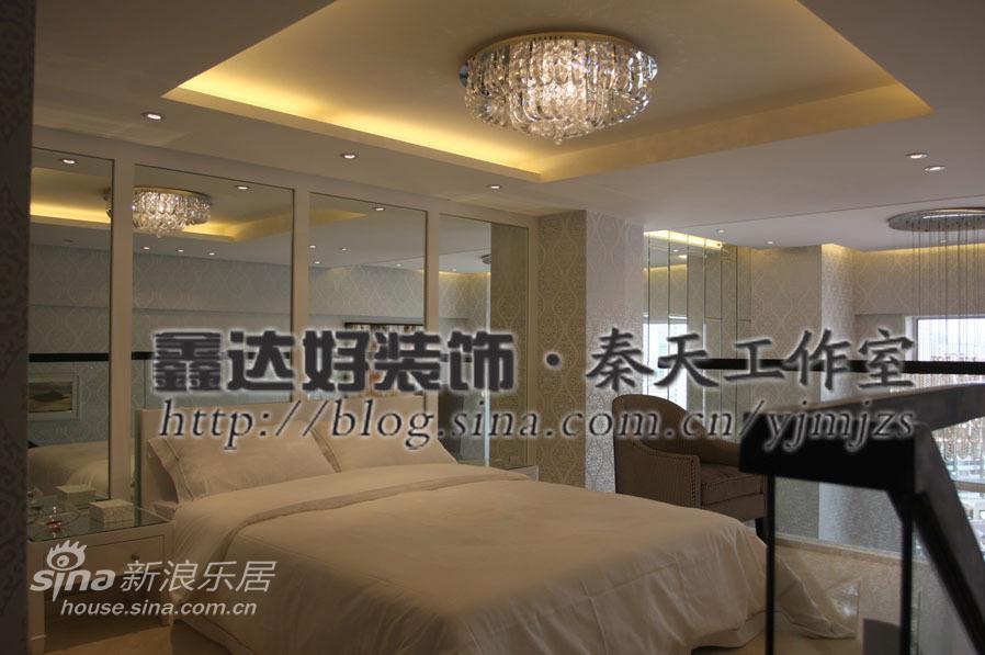 简约 跃层 卧室图片来自用户2557979841在跃层设计,跳跃式动感93的分享
