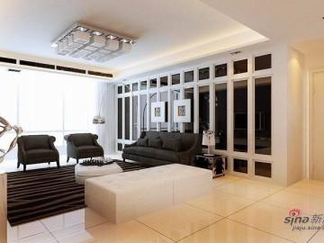 晒后现代高品质203平米住宅43